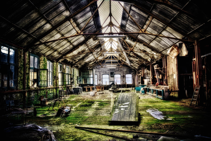 Urbex - Usine a Pognon VIII by Bestarns
