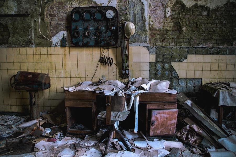 Paper Mill 02 by Bestarns