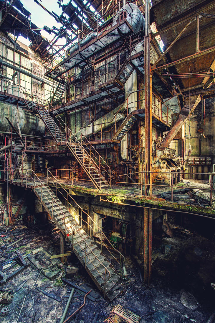Paper Mill - 002 by Bestarns