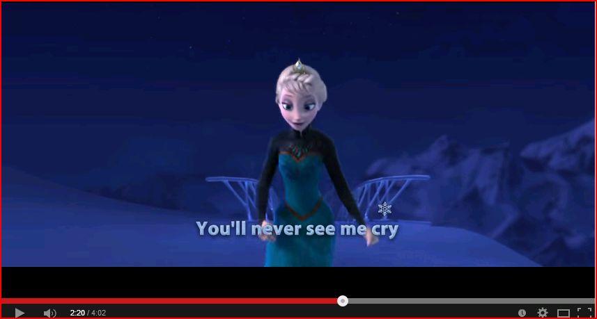 Elsa OOH LOOK A PENNY by SamiLuvsCandy