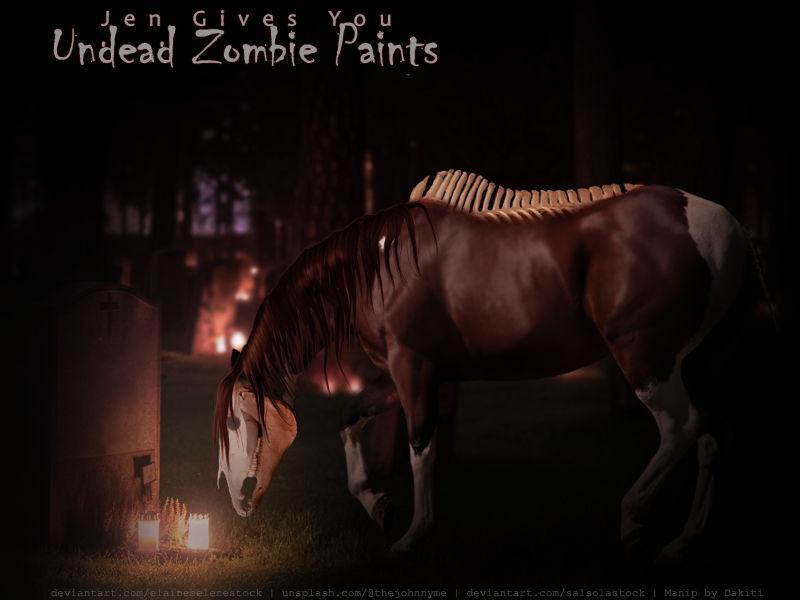 Zombie Paint- HP