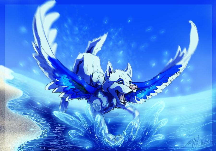 AHHH I GOT WATER IN MY EYE by ZabbyTabby