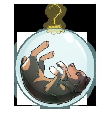 Beeagle Ornament by ZabbyTabby