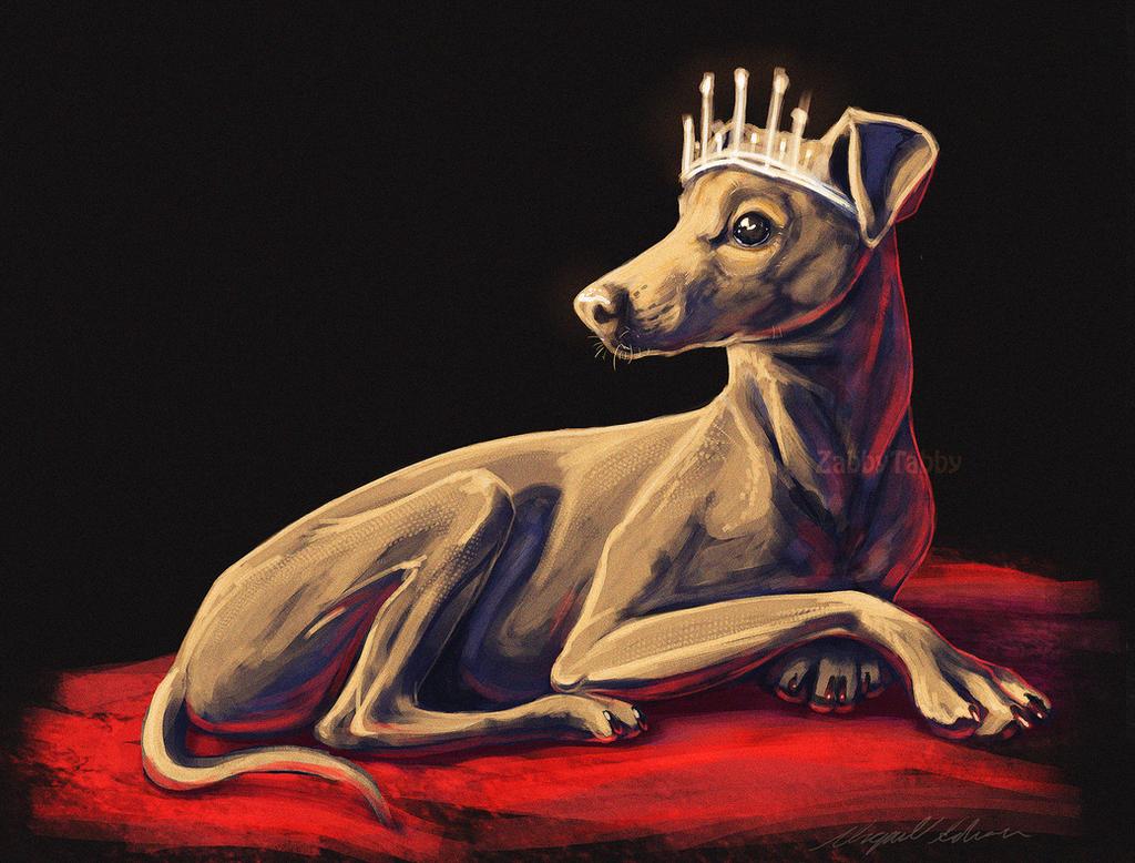 Italian Royalty by ZabbyTabby