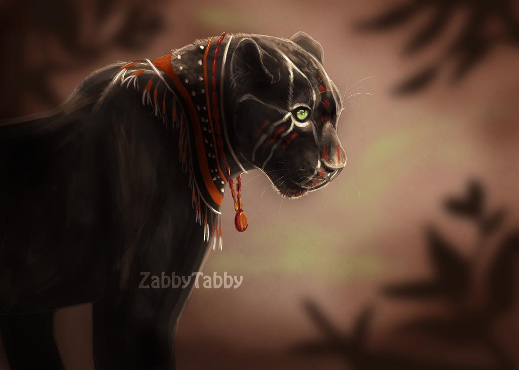 Game Face by ZabbyTabby