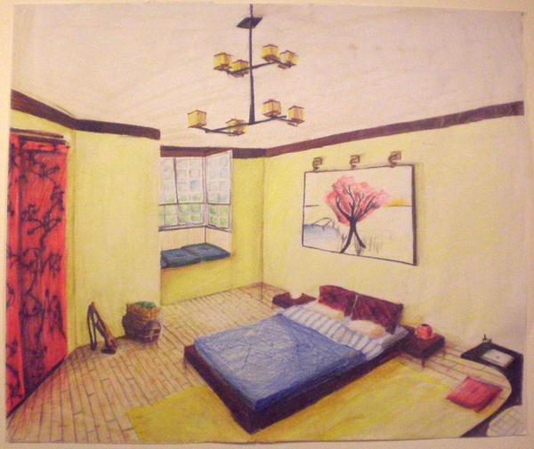 japanese inspired bedroom by videlsd on deviantart