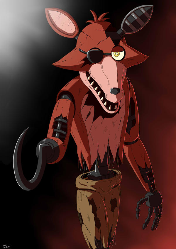 Withered foxy 3 by ktimz on deviantart
