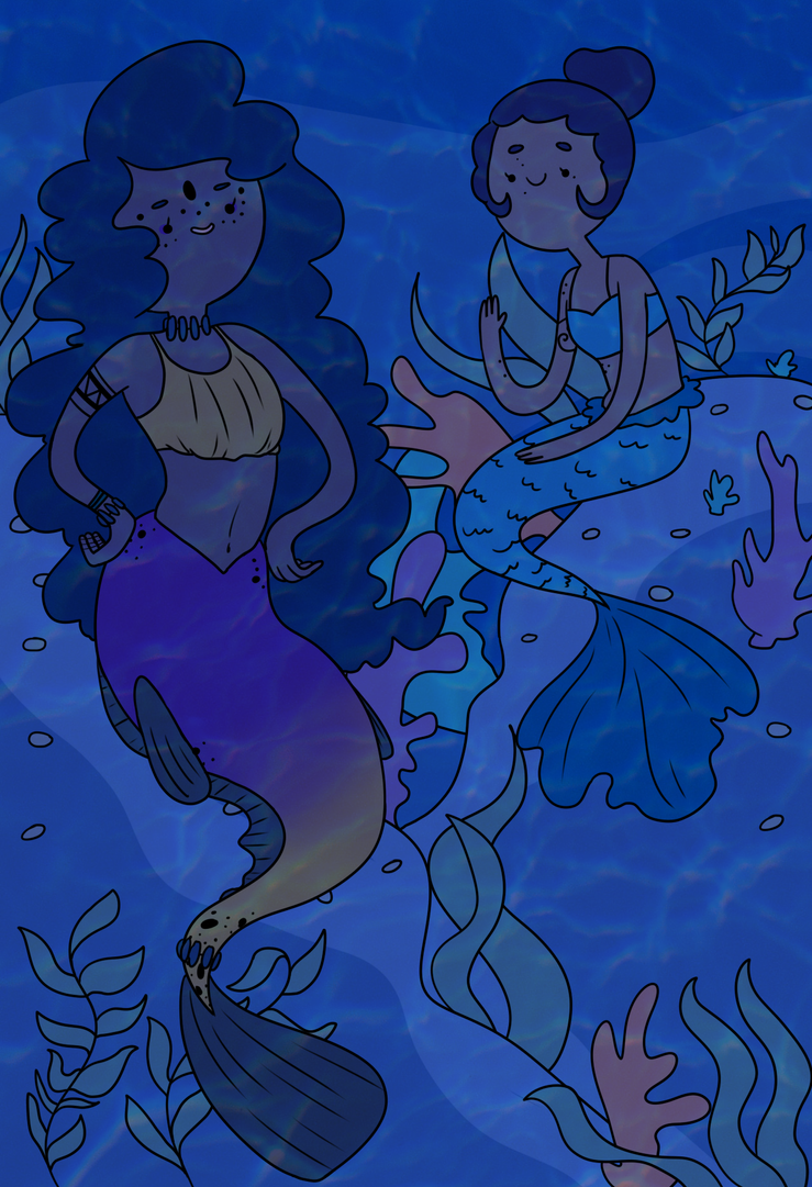 Mermaids by askBero