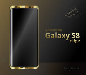 Samsung Galaxy S8 edge Gold