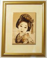 Geisha by FuocoRupestre