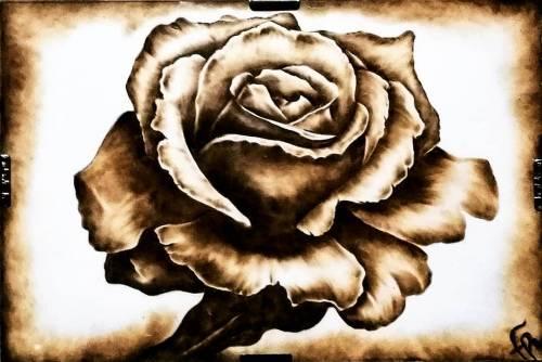 Rose by FuocoRupestre