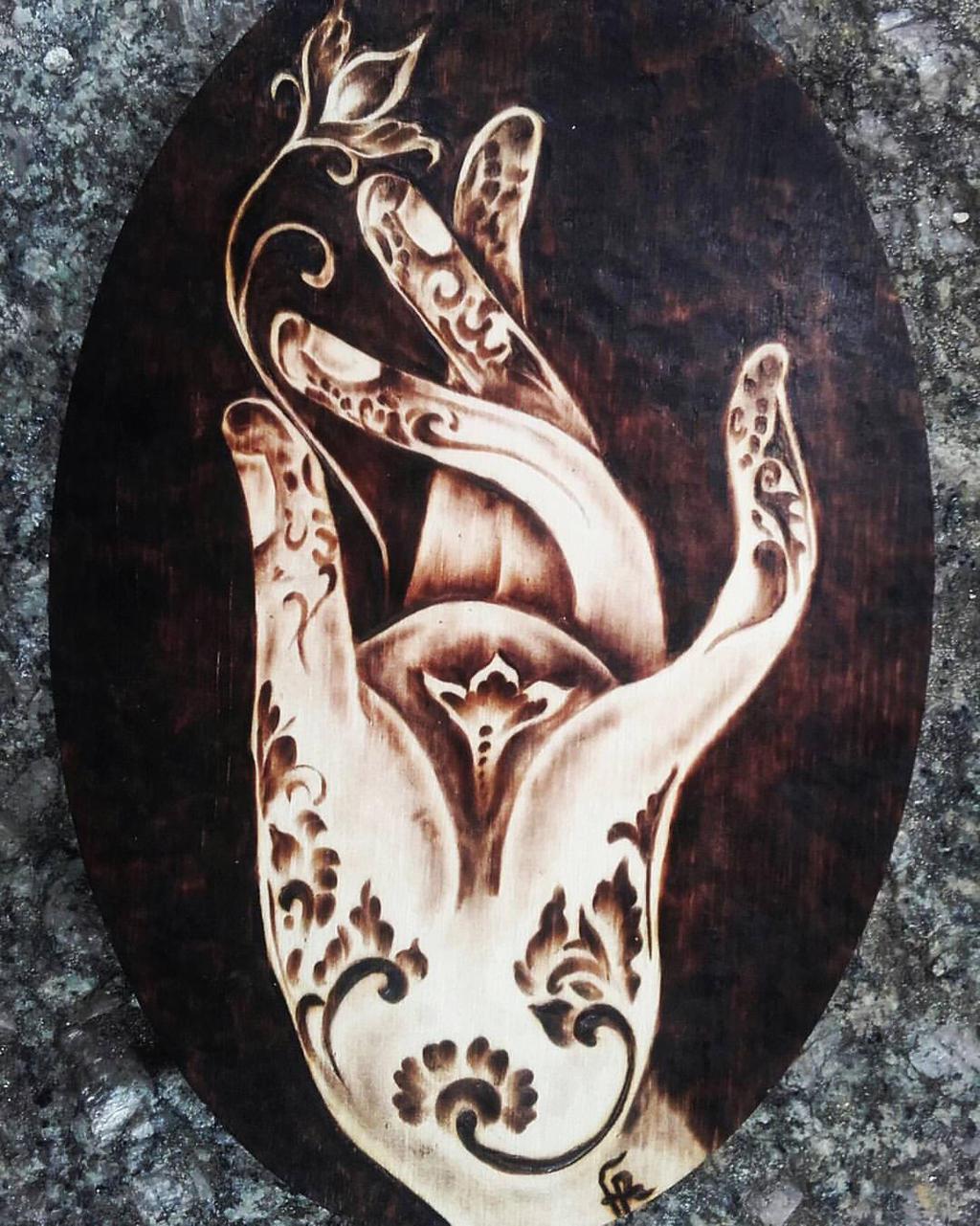 Buddha's Hand by FuocoRupestre