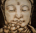 Buddha by FuocoRupestre