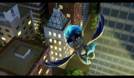 Comm. Flying High by Aschenstern