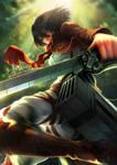 Mikasa Ackerman - Commission for BarbaricBoT