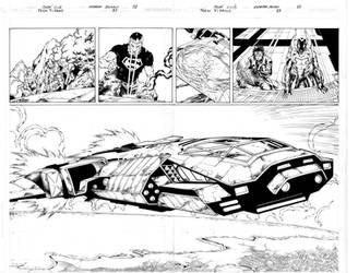 Teen Titans 83 pgs 02,03 Inks by Mariah-Benes