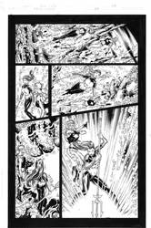 Teen Titans 84 pg 04 Inks by Mariah-Benes