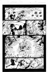 Teen Titans 84 pg 10 Inks by Mariah-Benes