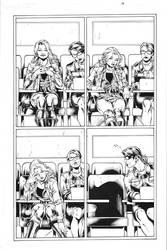 Wonder Girl Page 04 Inks by Mariah-Benes