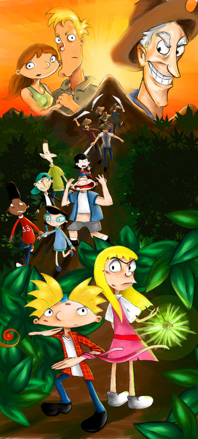 Hey Arnold The Jungle Movie by silsy on DeviantArt