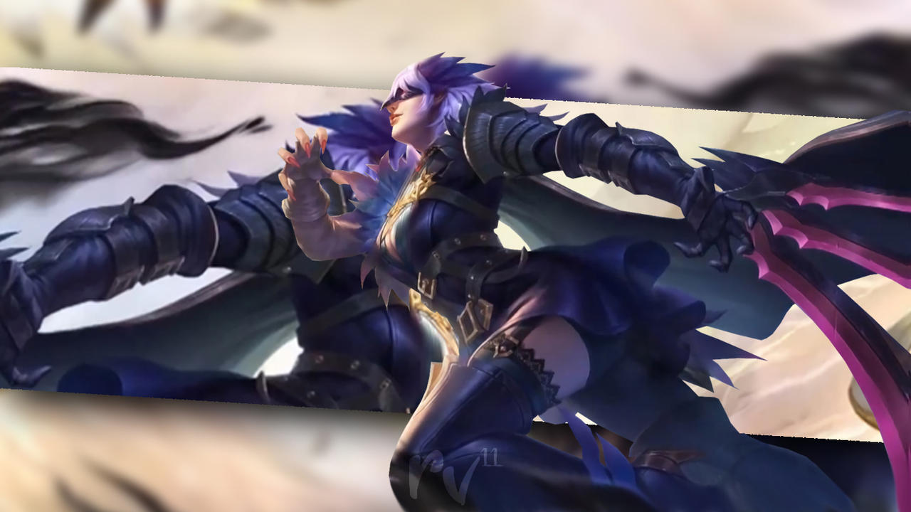 Natalia Midnight Raven Mobile Legend Wallpaper By Riael