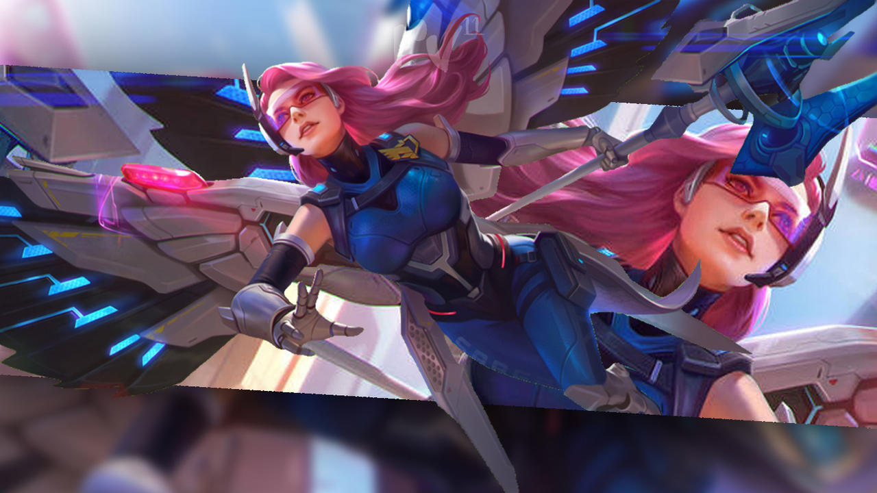 Rafaela Saber Savior Mobile Legend Wallpaper By Riael Voel11