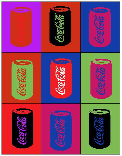 andy warhol pop art coca cola - photo #13