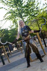 Daenerys (battle armour) - My own version by SilverKhaleesi