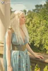 Daenerys in Qarth by SilverKhaleesi