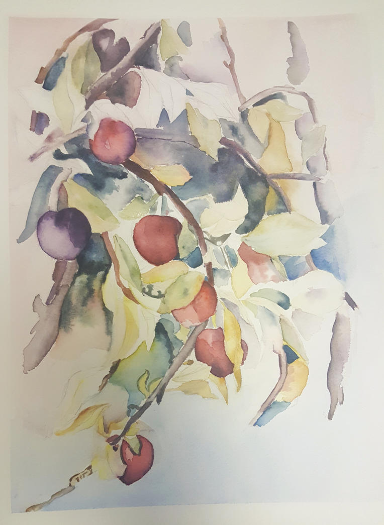 Plums - Charles Demuth by alicekai33