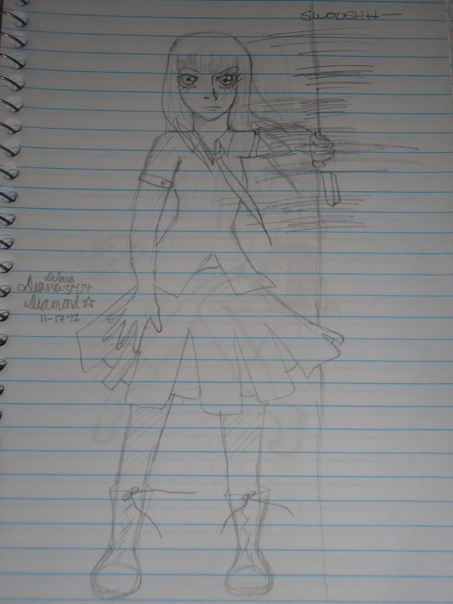 Sketchy, sketchy #1 by Daiana-Daiamondo