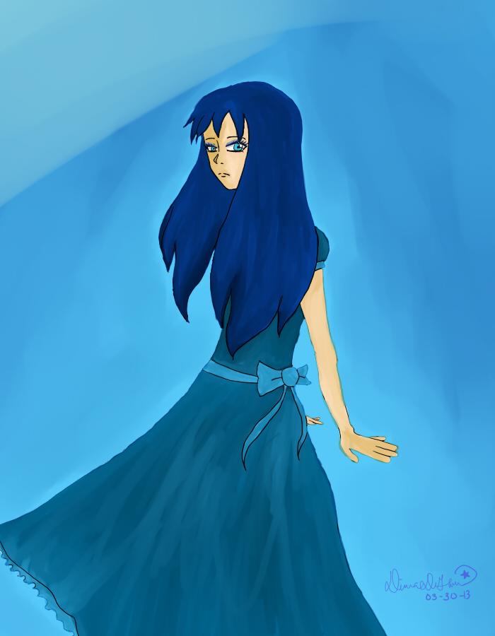 Blue by Daiana-Daiamondo