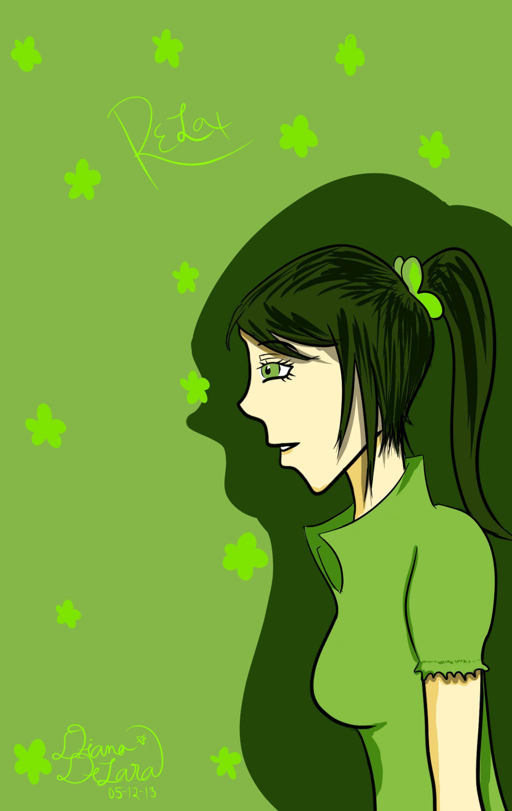 Green .-. by Daiana-Daiamondo