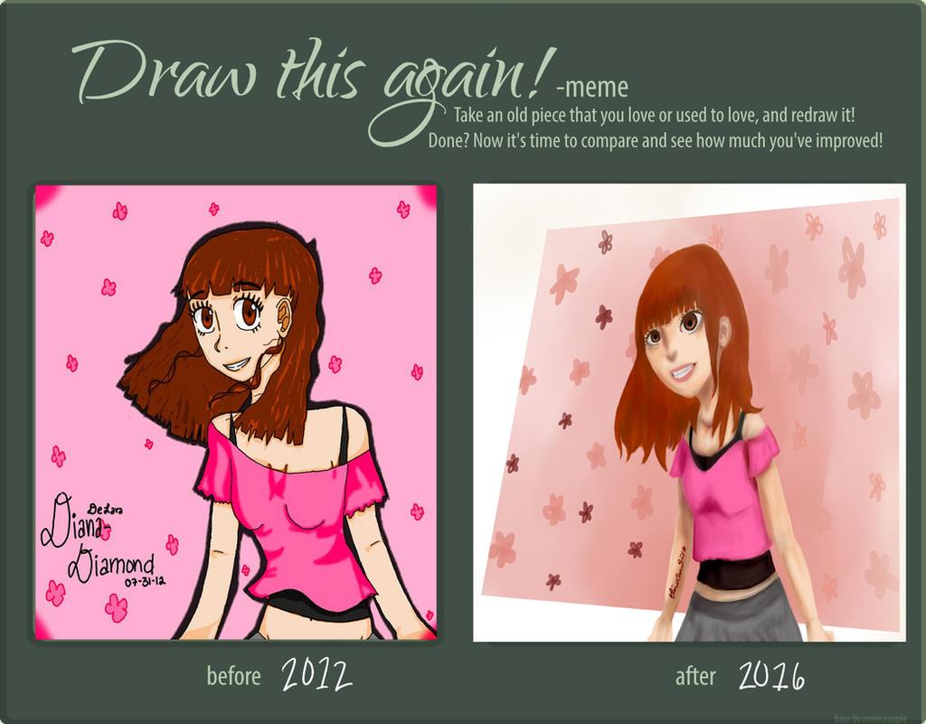 Draw This Again Meme by Daiana-Daiamondo