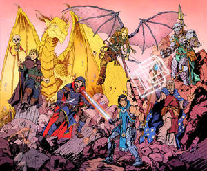 Dungeons and Dragons Party Commission