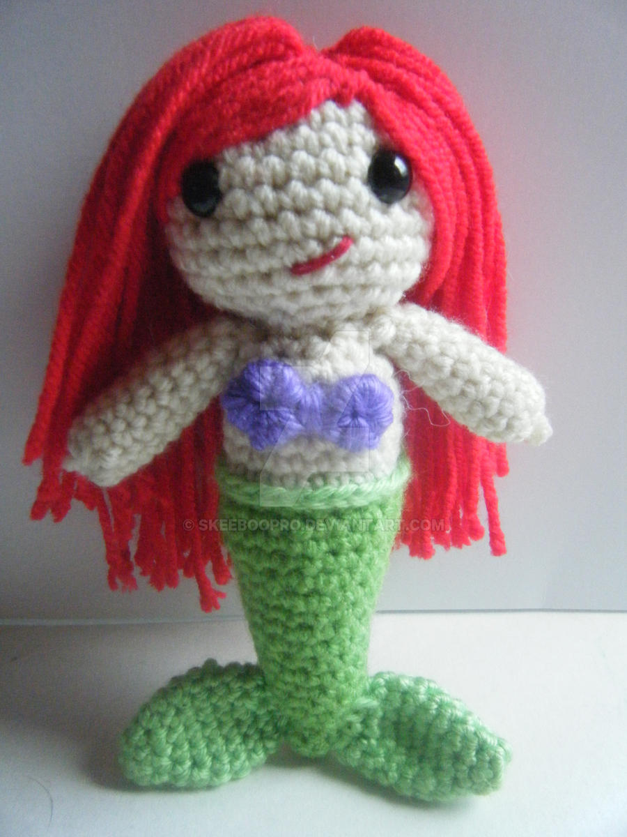 Amigurumi Ariel-Mermaid by SkeebooPro on DeviantArt