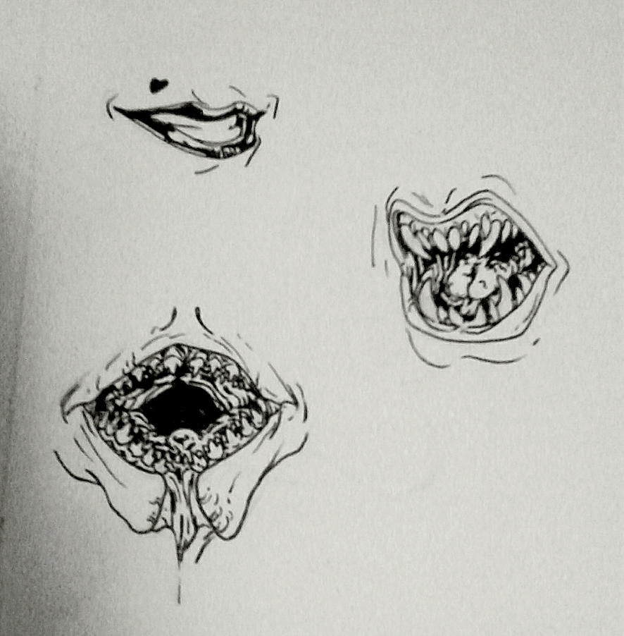 mouths by roboqueer