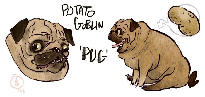 Potato Goblin by roboqueer