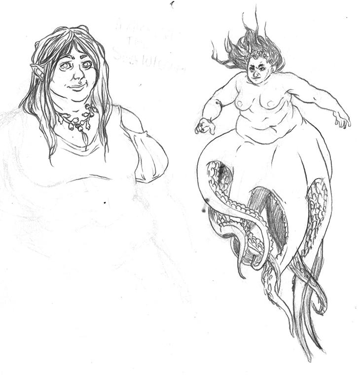 Marissa the Sea Wiccan by roboqueer