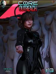 CORE #13: OUTREACH Cover by uzobono
