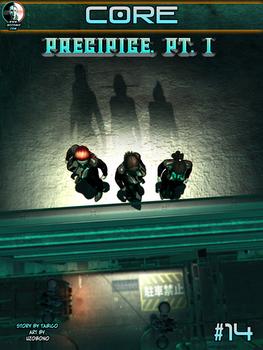 CORE #14: PRECIPICE, Part 1 Cover