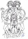 Alice Human Sacrifice: D-twins by Amelion