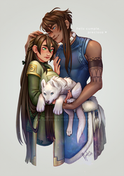 A little tiger-wolf for you! by Amelion
