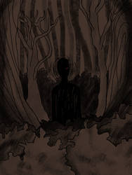 theres something in the woods