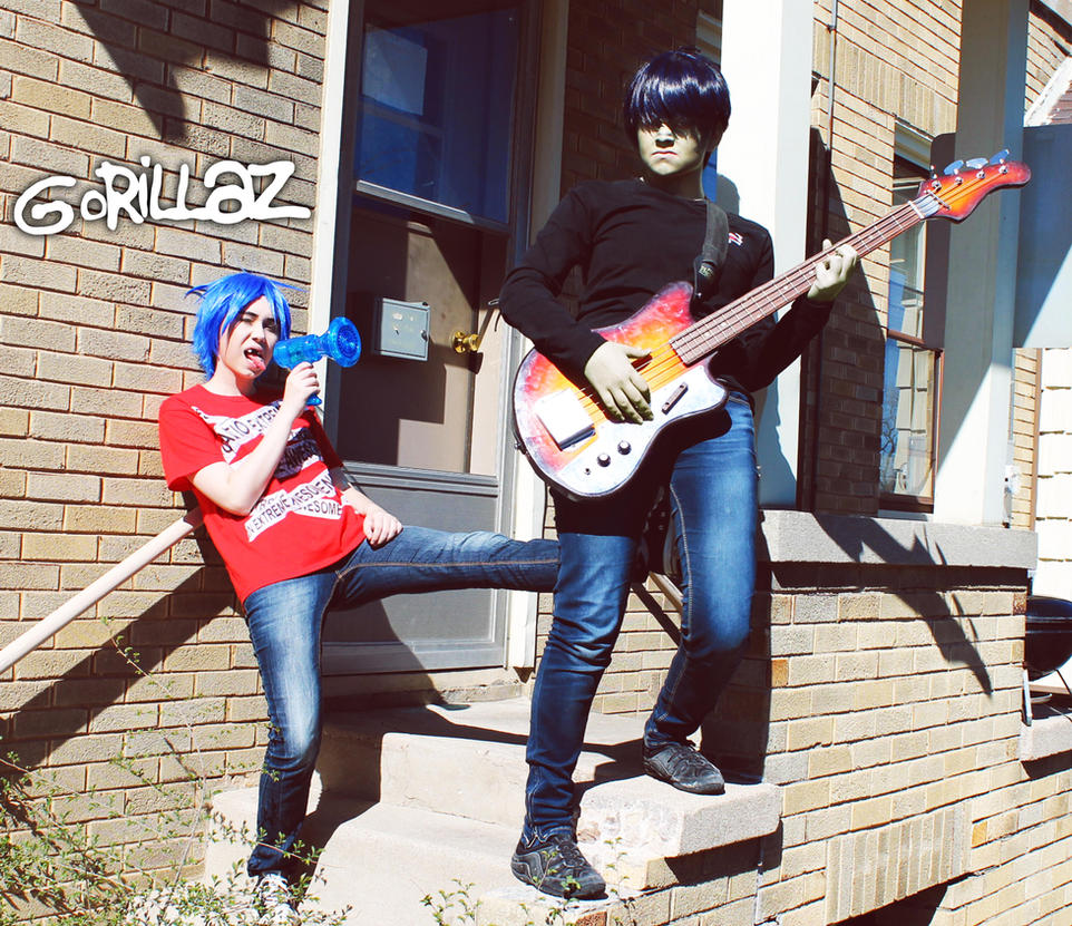 Gorillaz: The House by Hello-Yuki