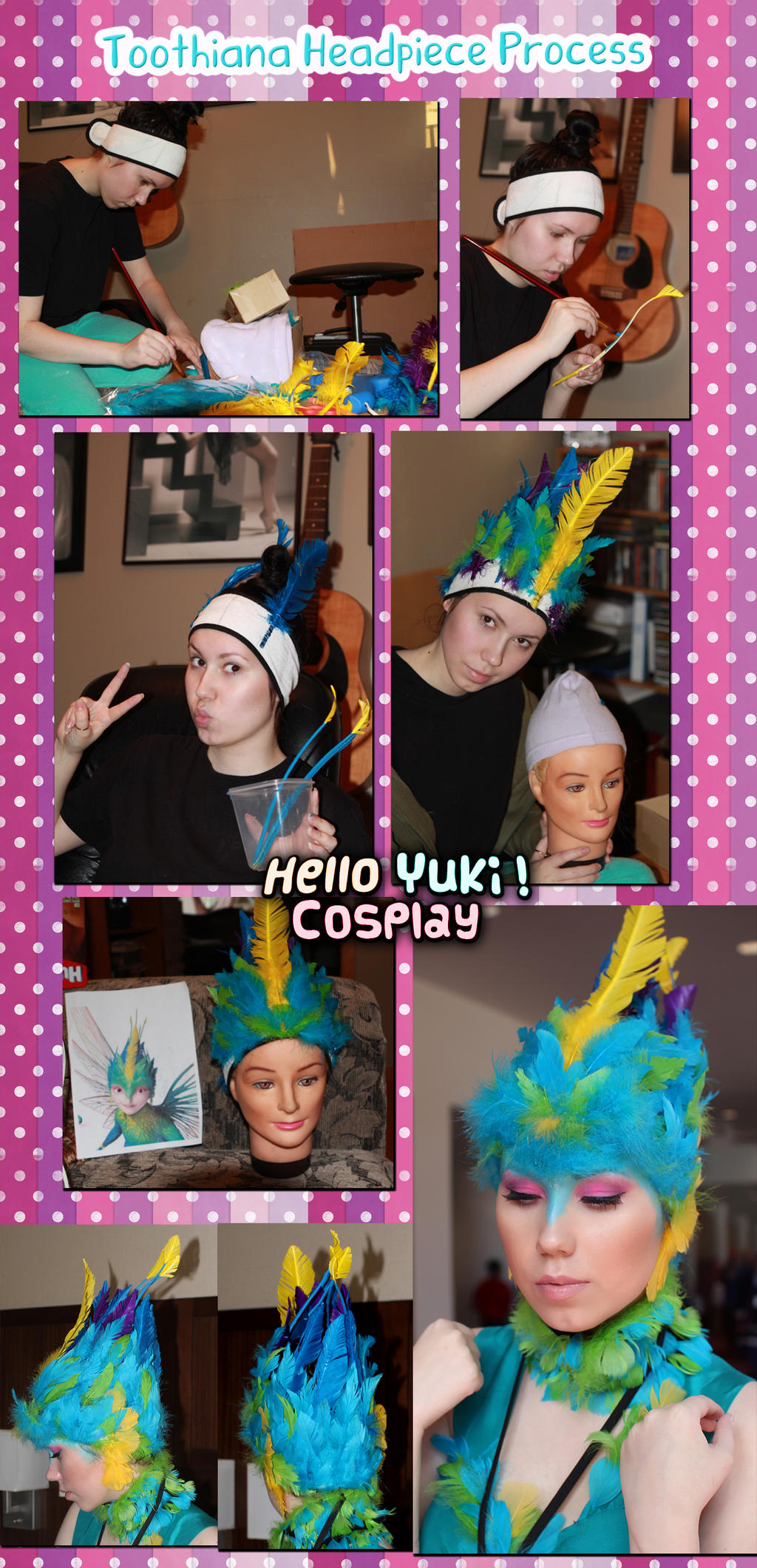 Toothiana tooth fairy queen headpiece process by hello for Michaels arts and crafts queens