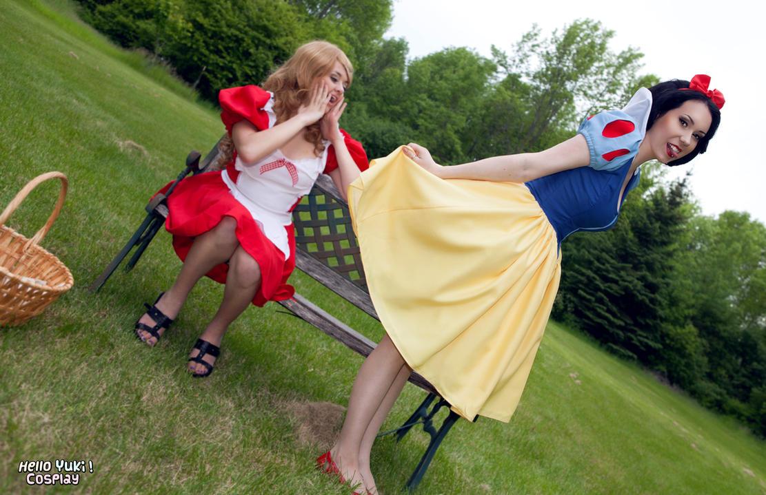 Snow White: Naughty Girls by Hello-Yuki ...