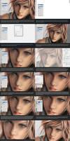 Skin Texture Tutorial by Aameeyur