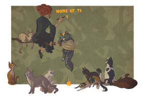 Morwen + Cats