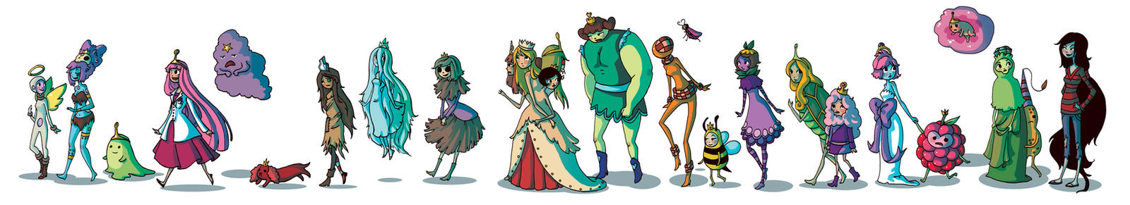 Adventure Time Royalty by fishcapades